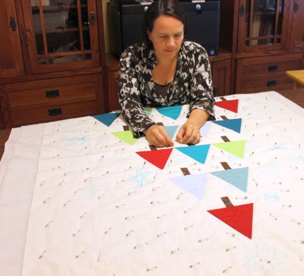 I am a quilter.