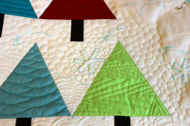 Pebble Quilting