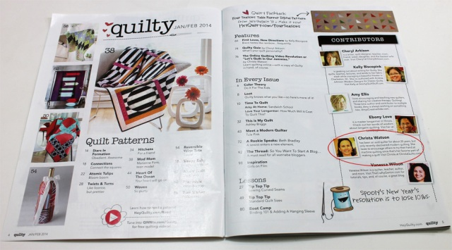 Quilty January 2014