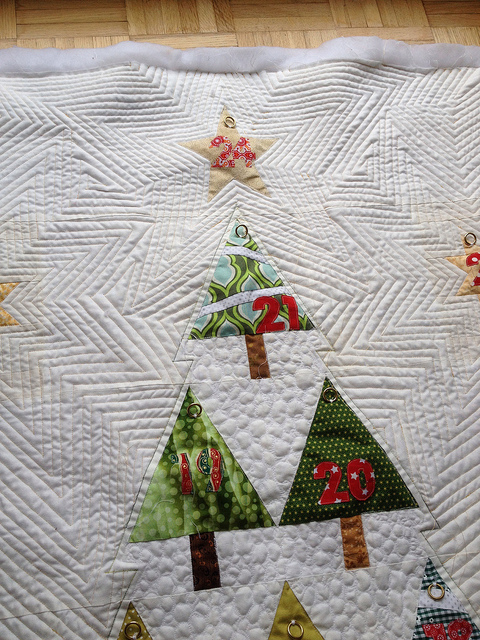 Modern Trees Quilting