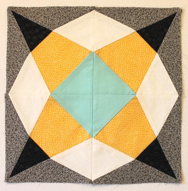 Geometric Star Block