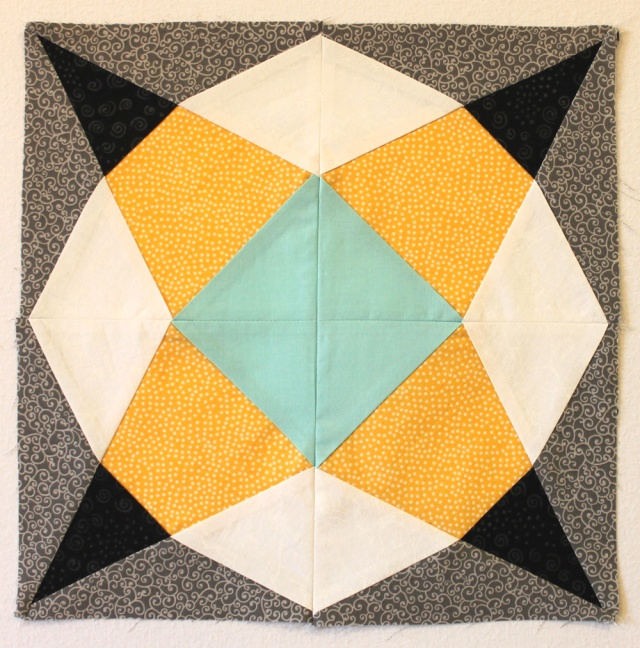 Geometric Star Block