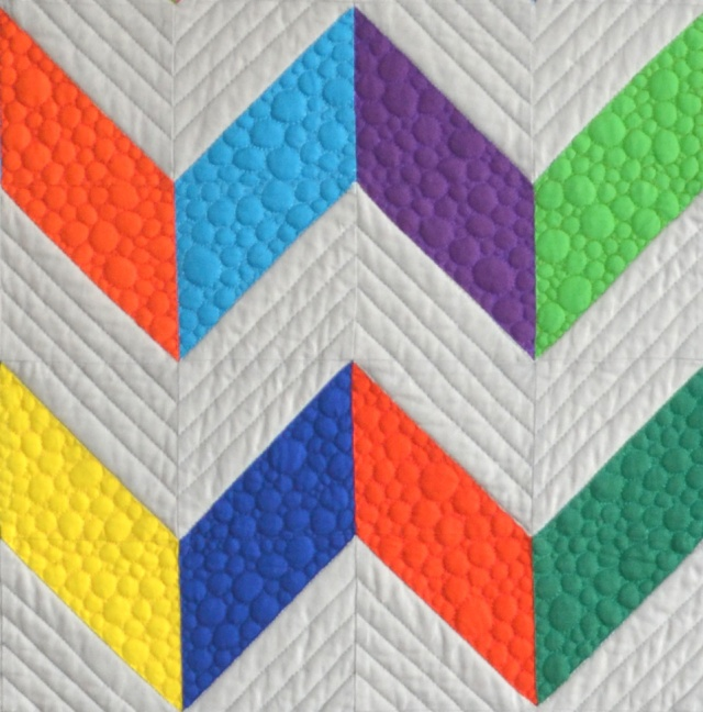 Chevron Design Quilt