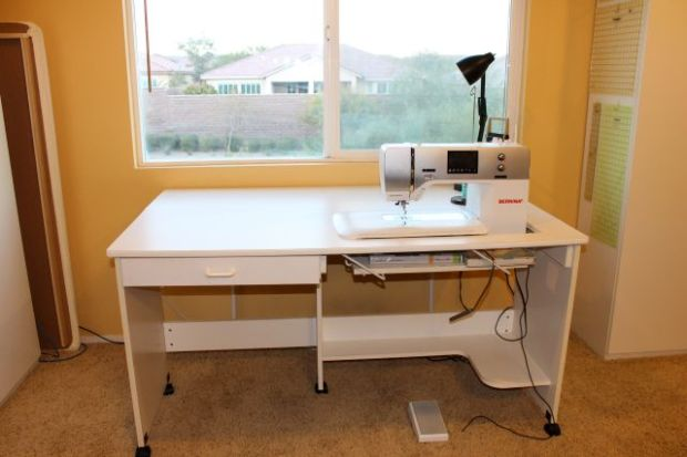 Sewing Desk with Natural Light