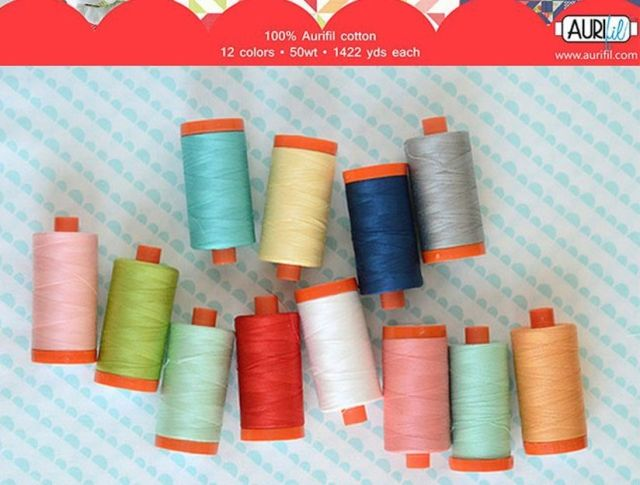 Aurifil Simplify Collection by Camille Roskelley