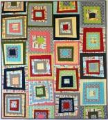 Modern Logs Quilt Pattern