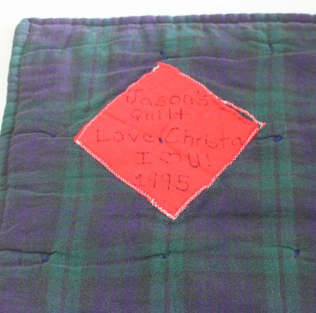 quilt label