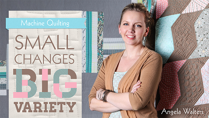 Save 50 On Angela Walter S Machine Quilting Craftsy Class