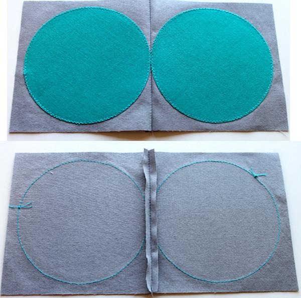 Block-pairs-sewn