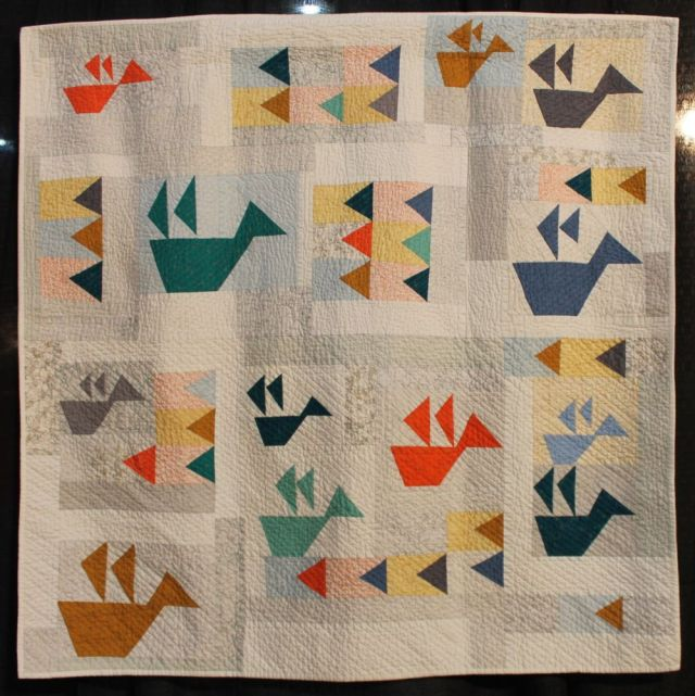 Folded Flock by Jenna Brand