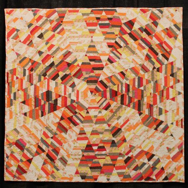 Sunburst Quilt by Tara Faughnan