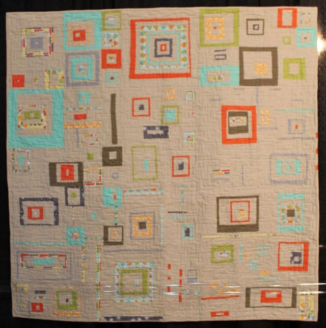Tune In Next Week by Chawne Kimber, Quilted by Pamela Cole
