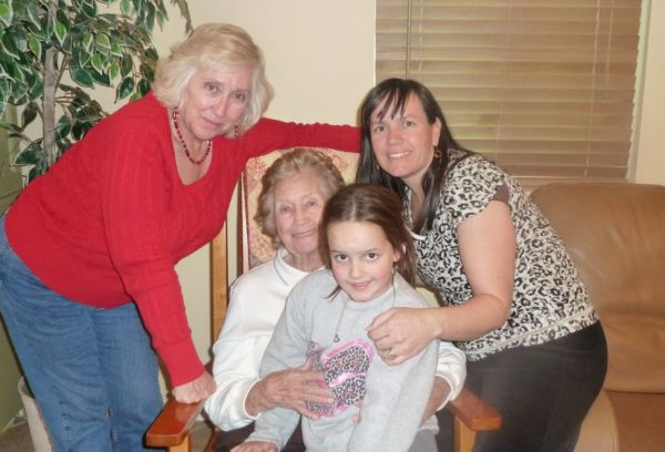 2010 Christmas 4 generations