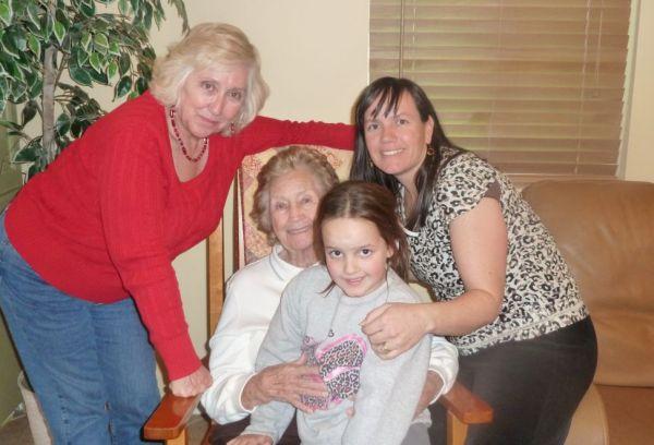 2010 Christmas 4 generations