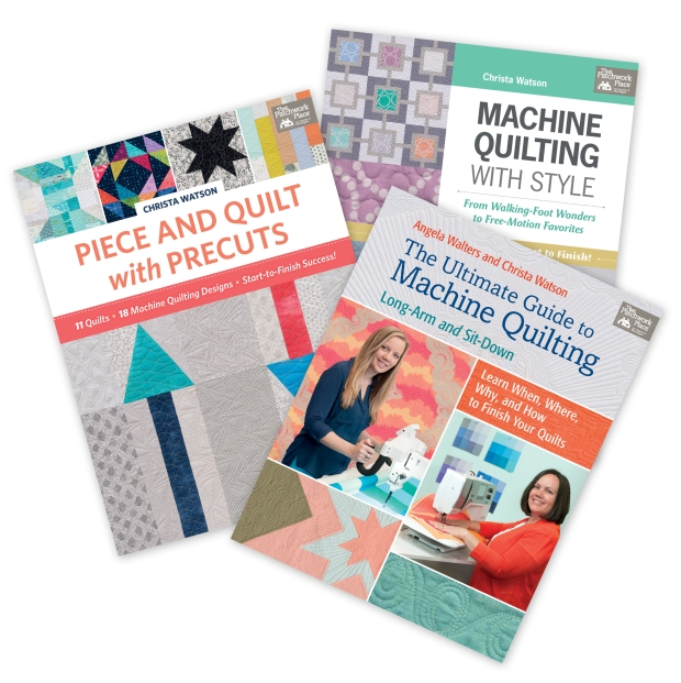 Christa Quilts Machine Quilting Books