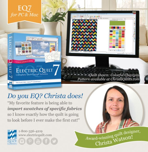 Learn To Use Electric Quilt With My Free Handouts Other Resources Christa Quilts