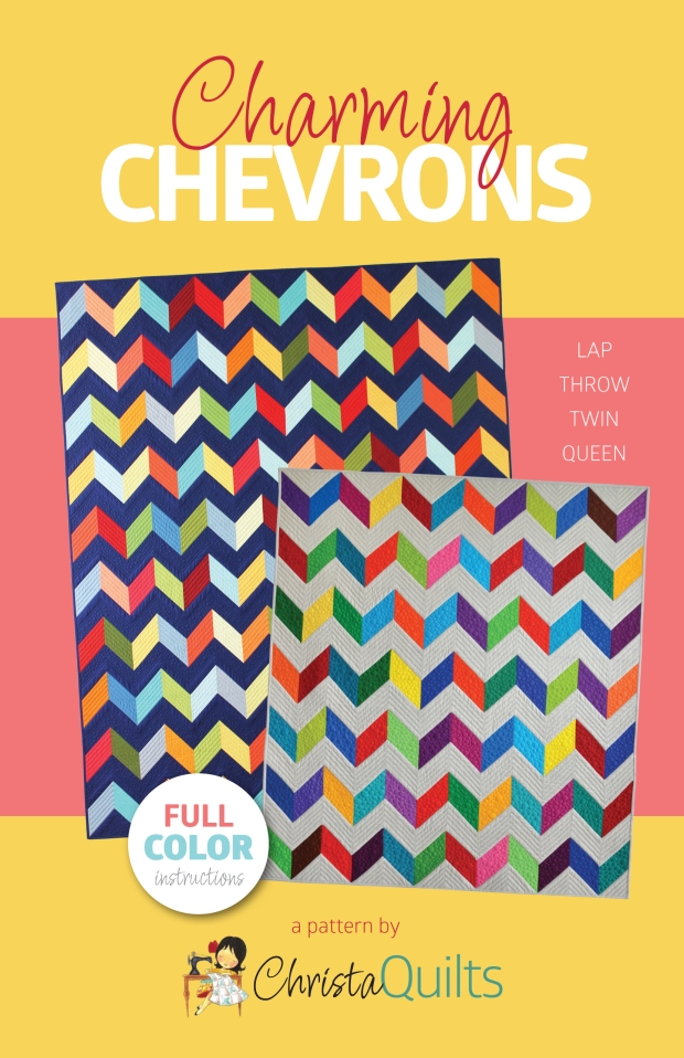Charming Chevrons Quilt Pattern by Christa Watson of Christa Quilts