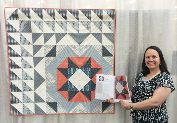 Machine Quilting with Style: Focal Point Re-Imagined + A Secret Revealed