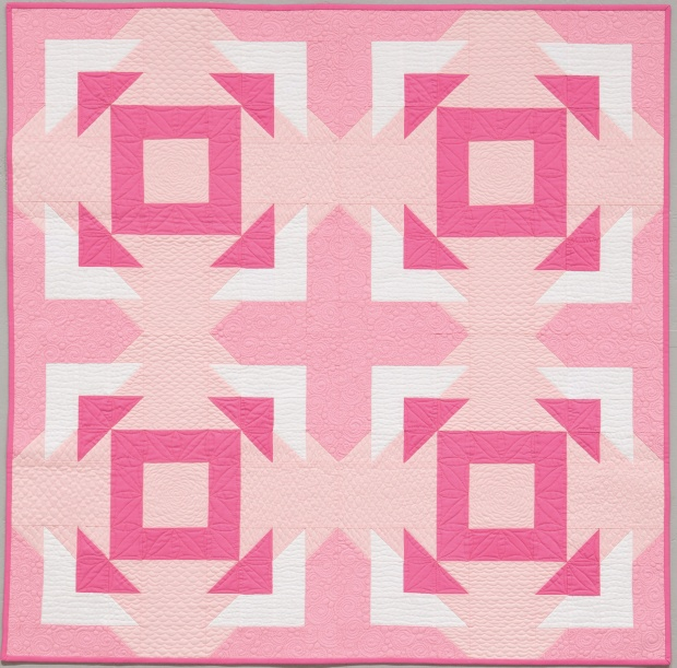 Corned quilt by Christa Watson