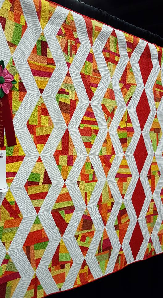 Facets Machine Quilting