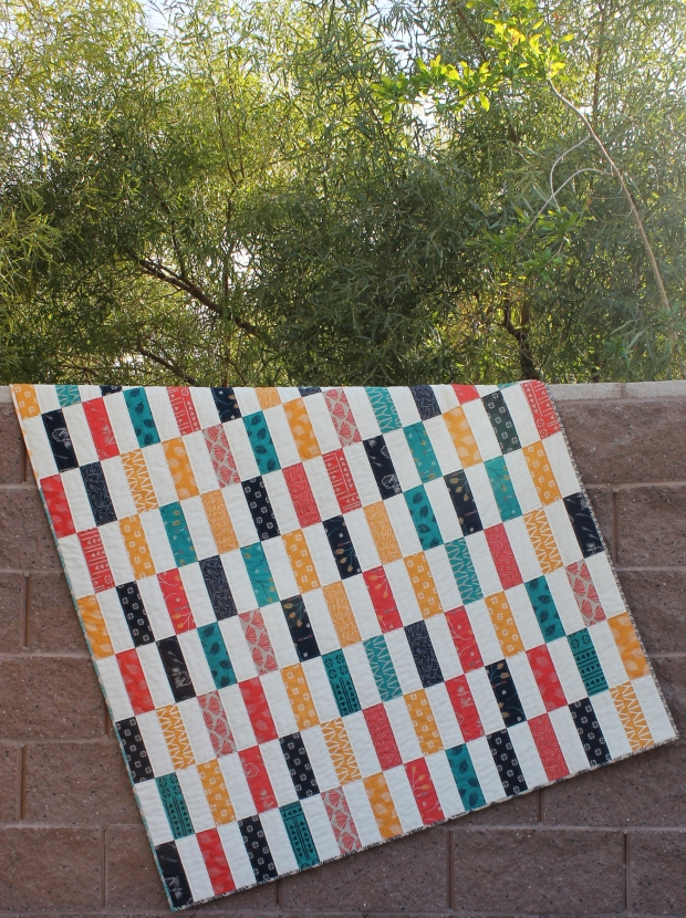 Simple Strips Quilt Along