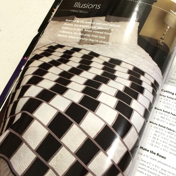Illusions Pattern Now Available In Modern Quilts Unlimited