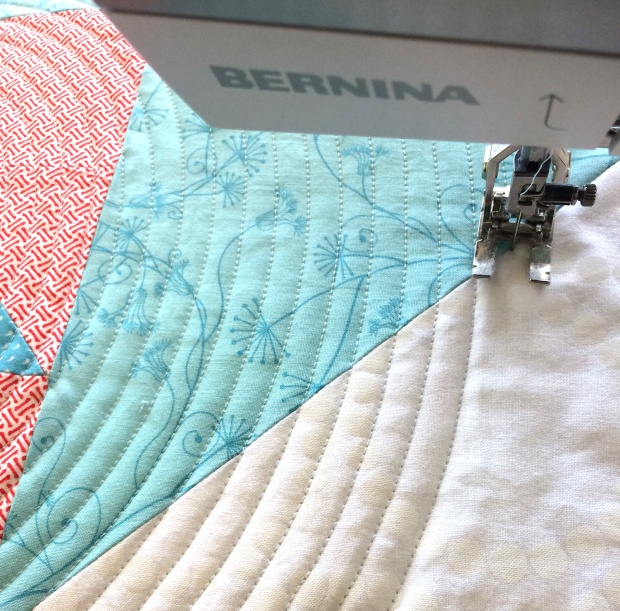 Quilting Patterns Using Walking Foot : Latest Finish Nested Pinwheels Quilt and Podcast Interview Christa Quilts