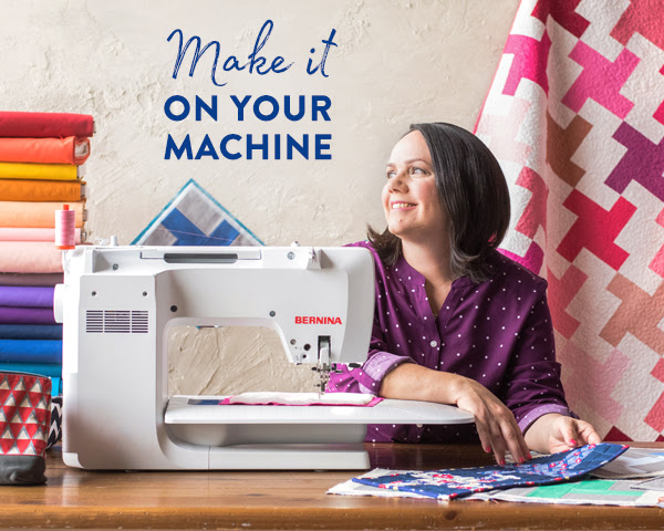 Christa Watson shares tips and advice for domestic machine quilting