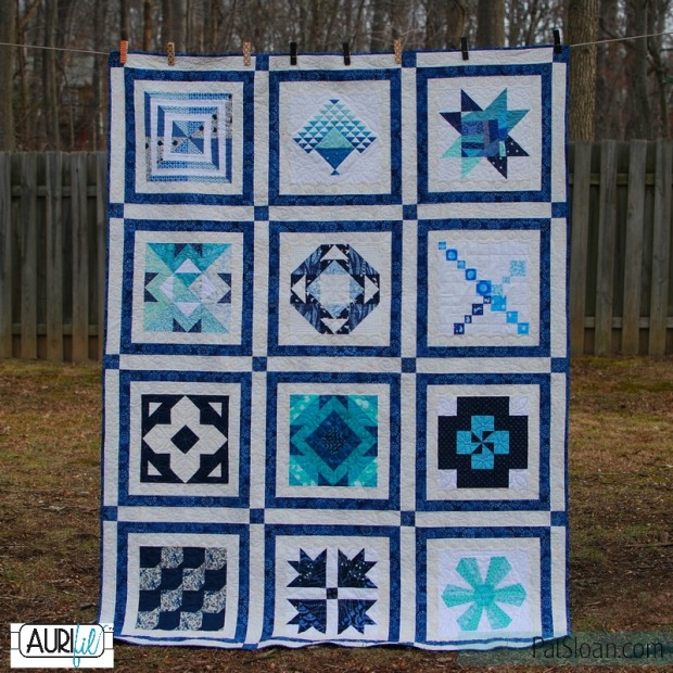 Aurifil Designer of the Month 2016 Quilt