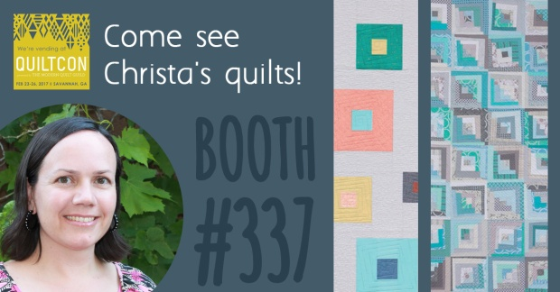Christa Quilts and EQ at QuiltCon 2017