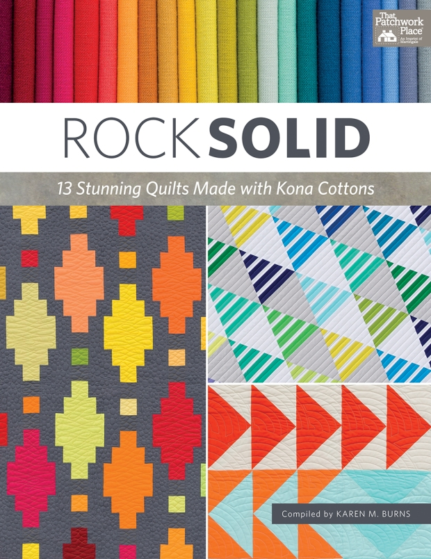 Rock Solid book using Kona Solids