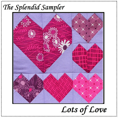 Lots of Love Splendid Sampler Block by Melisa Corry