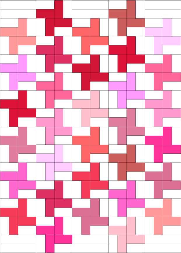 Pink Pinwheels quilt designed in EQ7