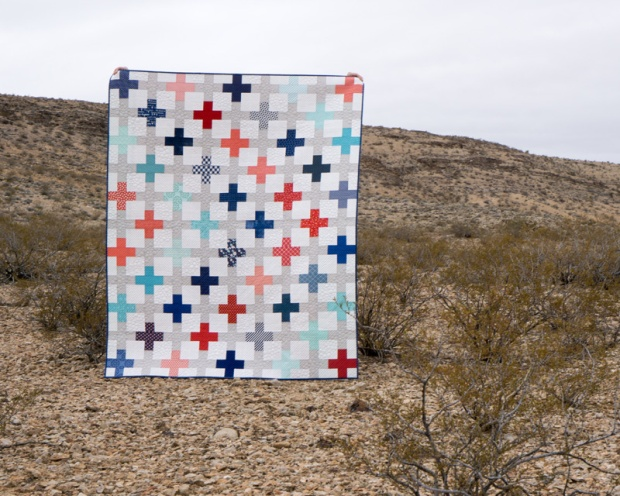 Positive Direction Quilt Pattern by Christa Quilts
