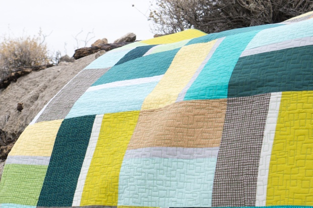 Stepping Stones Quilt Pattern by Christa Watson of Christa Quilts