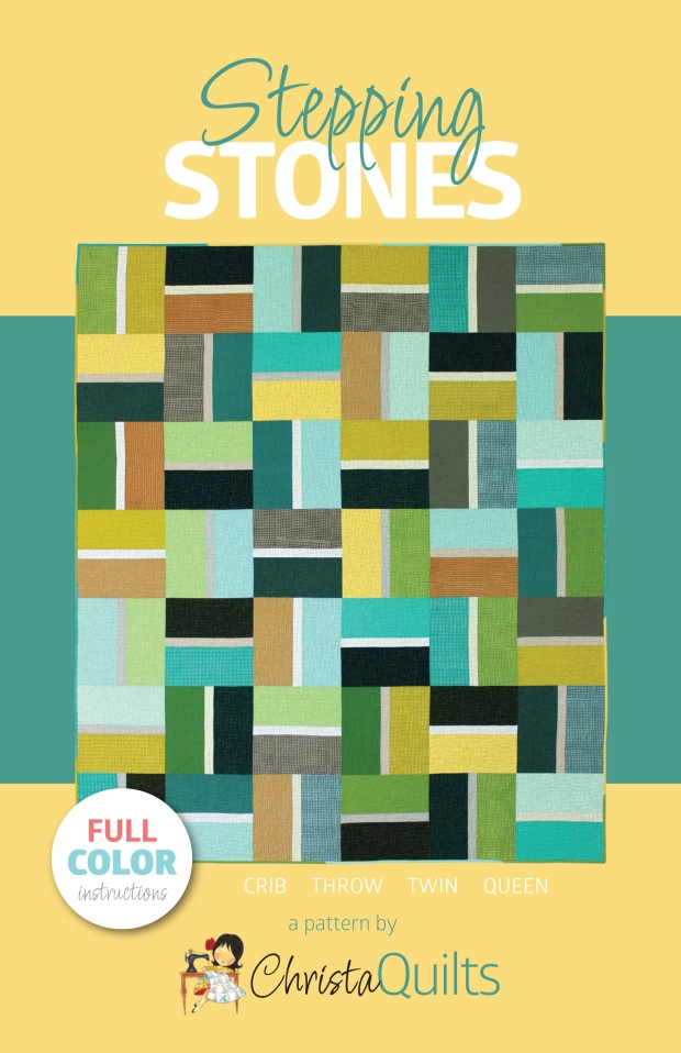 Stepping Stones Quilt Pattern in 4 Sizes