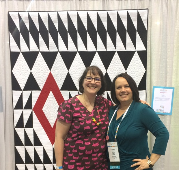 Meeting up with Craftsy Acquisitions Editor at QuiltCon