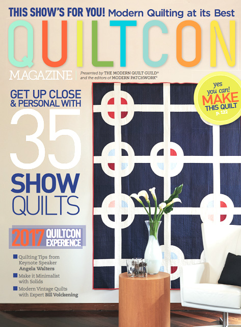 QuiltCon 2017 Cover