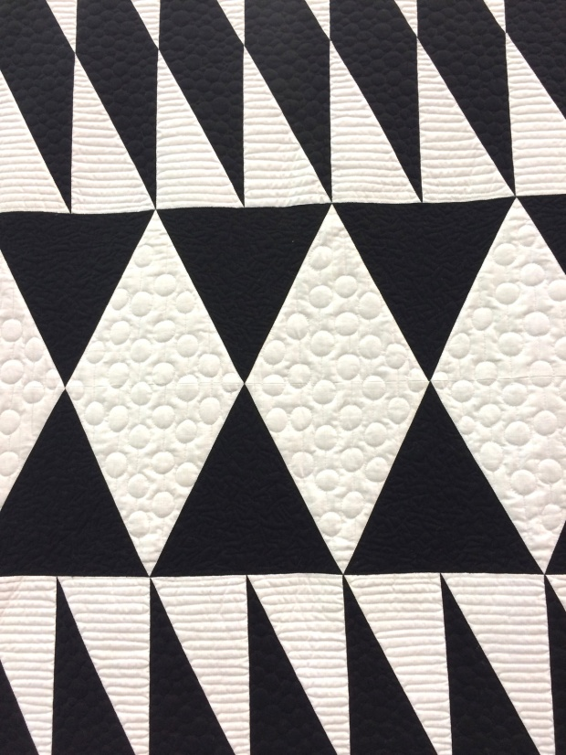 Quilting Detail on Diamond in the Rough