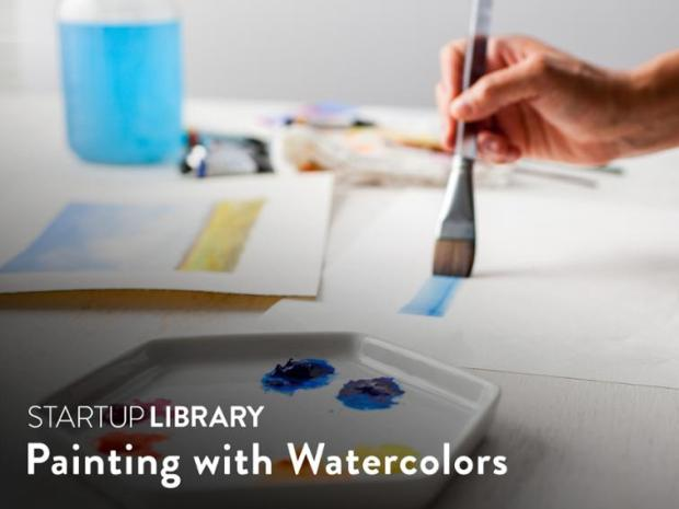 Craftsy Startup Library Painting with Watercolors