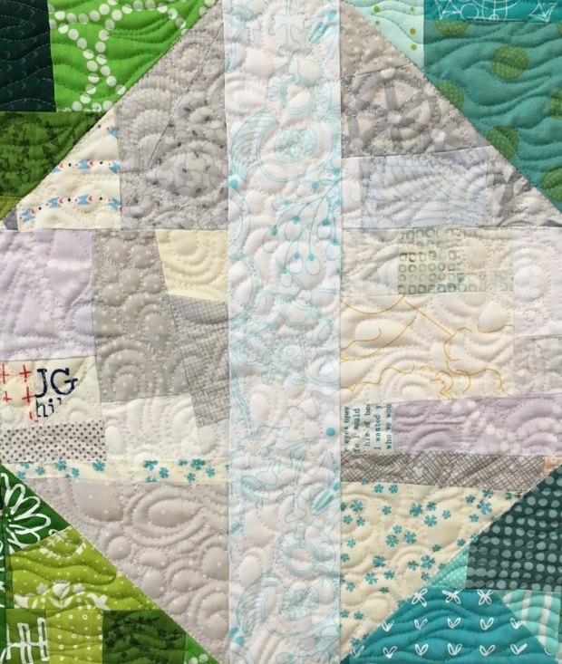 Sneak Peek #1 from Piece and Quilt with Precuts
