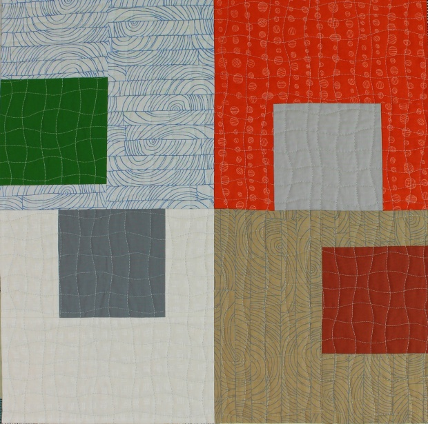 Sneak Peek #3 from Piece and Quilt with Precuts - Alison Glass fabric is so good, it's in here twice!