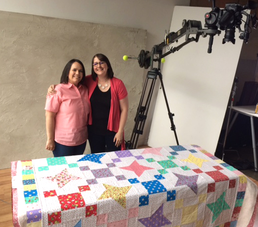 On Set at Craftsy