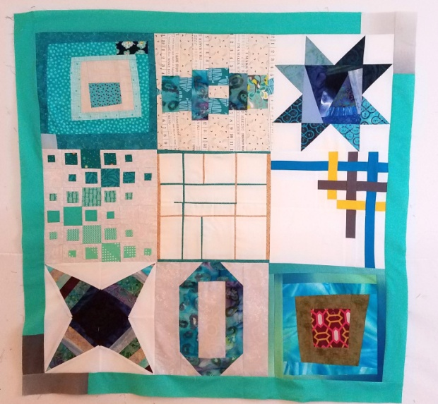 Machine Quilting Blog Hop Practice