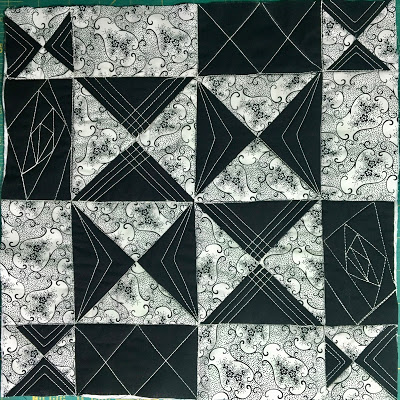 Jenny's quilting practice