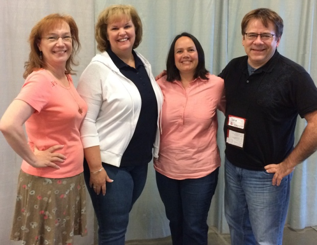 Judges at Vermont Quilt Festival