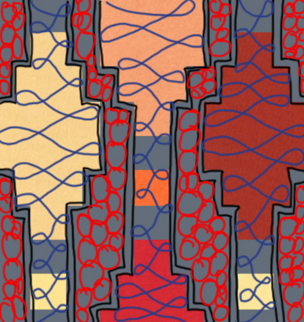 Lanterns Quilt Path step 4
