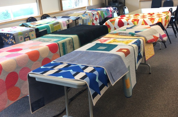 Christa Watson trunk show of quilts