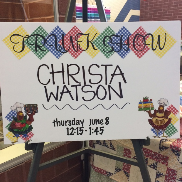 Christa Watson Trunk Show