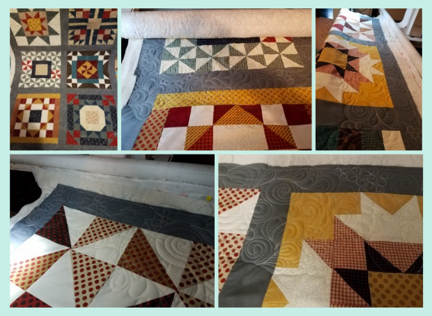 Machine Quilting by Vicki Holloway